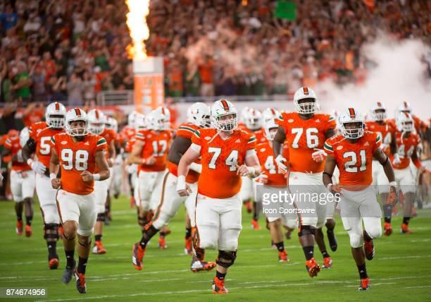 University of Miami Hurricanes Kicker Diego Marquez University of Miami Hurricanes Offensive Lineman Tyler Gauthier University of Miami Hurricanes...