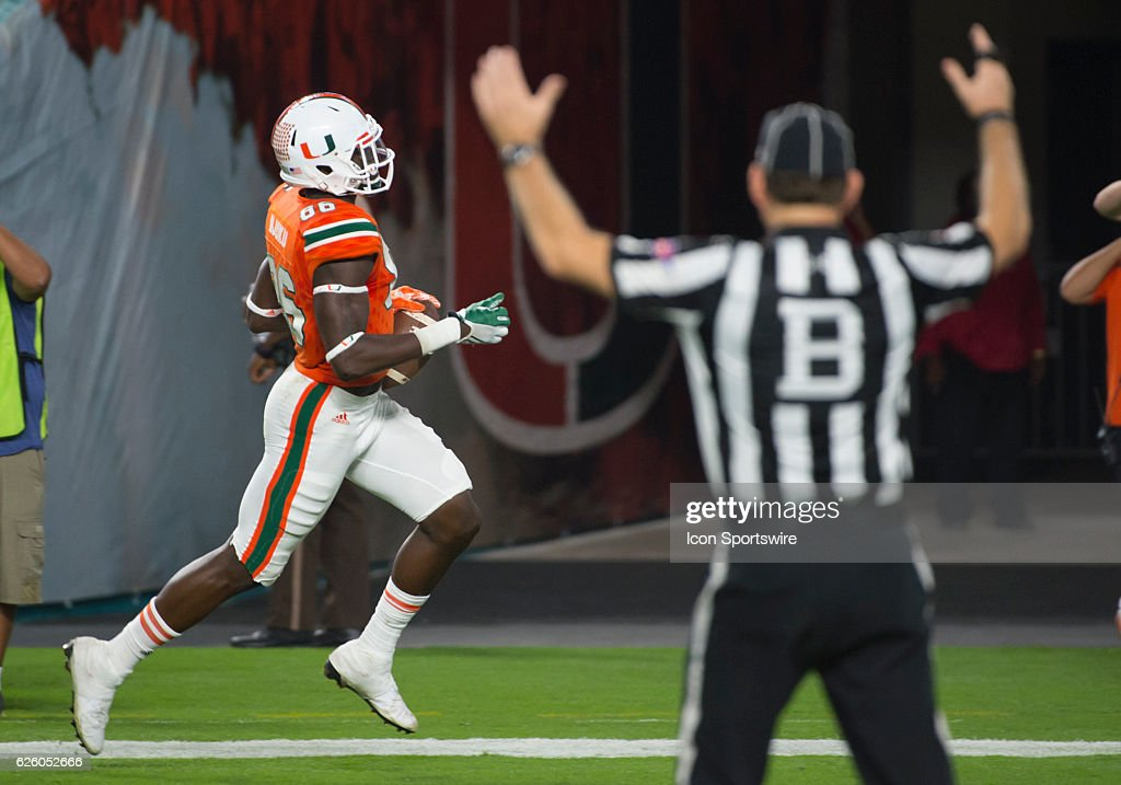 Ncaa Football Nov 26 Duke At Miami Pictures Getty Images