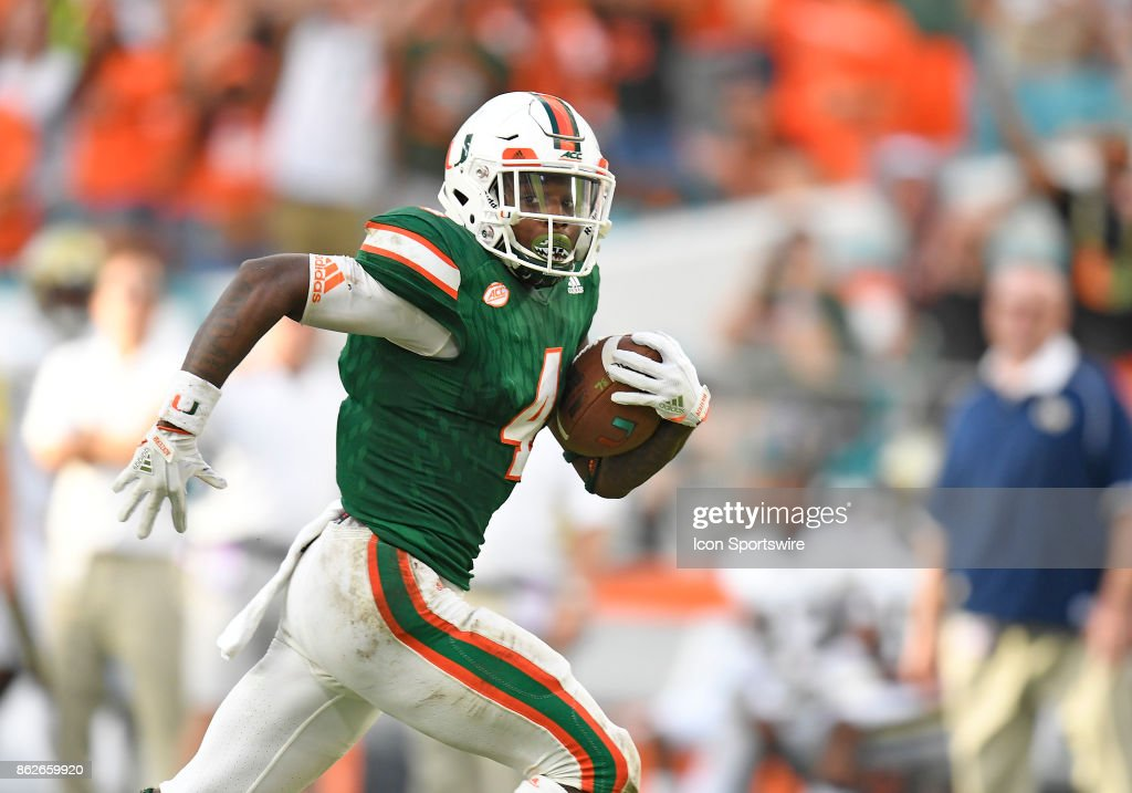 COLLEGE FOOTBALL: OCT 14 Georgia Tech at Miami Pictures | Getty Images
