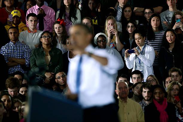 President Obama Speaks On Raising The Minimum Wage At The University