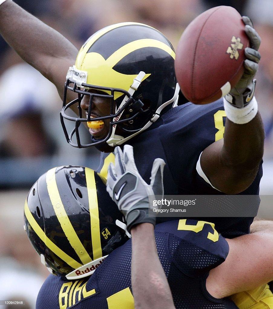 NCAA Football - Eastern Michigan vs Michigan - September 17, 2005