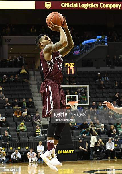 University of Montana redshirtsophomore guard Ahmaad Rorie shoots the ball during a nonconference NCAA basketball game between the University of...