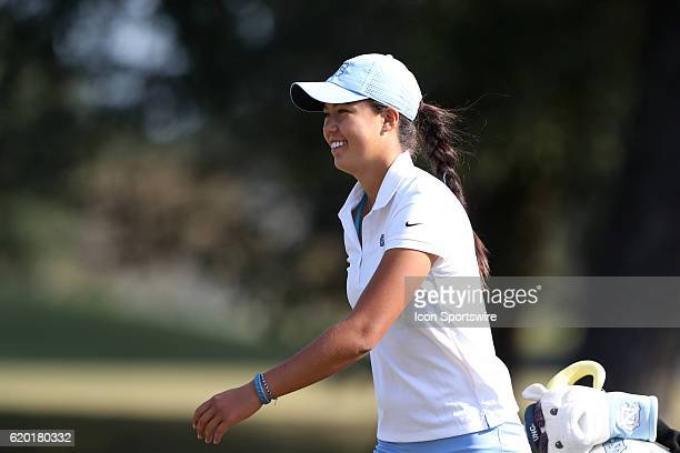University of North Carolina's Leslie Cloots The First Round of the 2016 Landfall Tradition NCAA Women's Golf Championship hosted by the University...