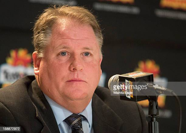 University of Oregon head coach Chip Kelly talks with the media during a news conference at the Camelback Inn Resort in Paradise Valley, Arizona on...