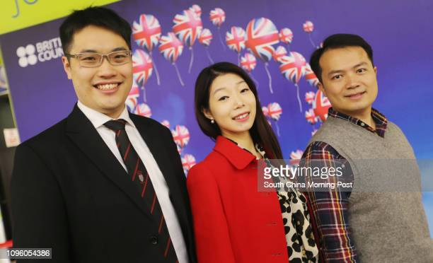 University of Oxford Jeremy Lai University of Nottingham Cynthia Chan and University of Greenwich Manchester Business School Kelvin Chan pose for a...