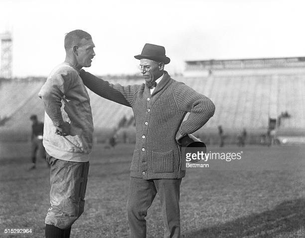 University of Pennsylvania football playersCoach F Harold Gaston and Head Coach John Heisman