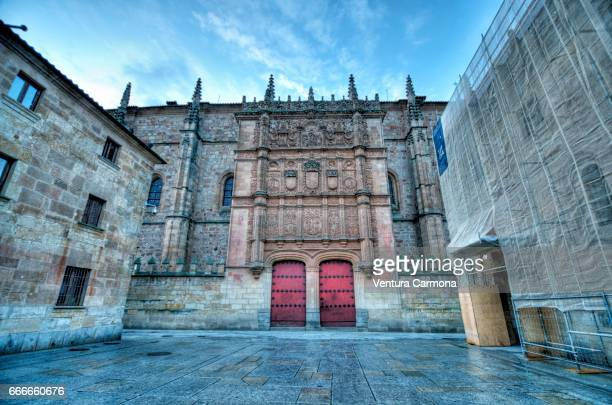 university of salamanca, spain - akademisches lernen stock pictures, royalty-free photos & images