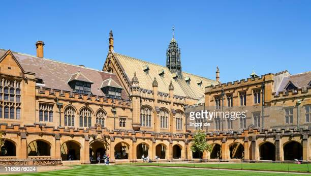 university of sydney architecture, australia - university of sydney stock pictures, royalty-free photos & images