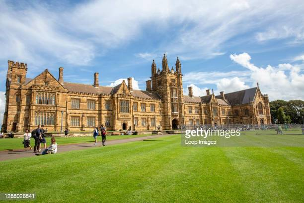 University of Sydney which is Australia's oldest university and one of the sandstone universities.