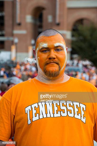 university of tennessee football fan - knoxville tennessee stock pictures, royalty-free photos & images