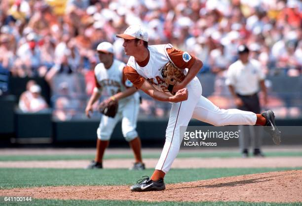 University of Texas pitcher Huston Street pitched 12 innings of shut out ball against the University of South Carolina to earn tournament MVP honors...