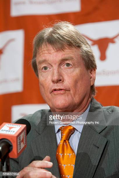 University of Texas President Bill Powers talks about Texas' reasons for staying with the Big 12 athletic conference with 10 teams after last week's...