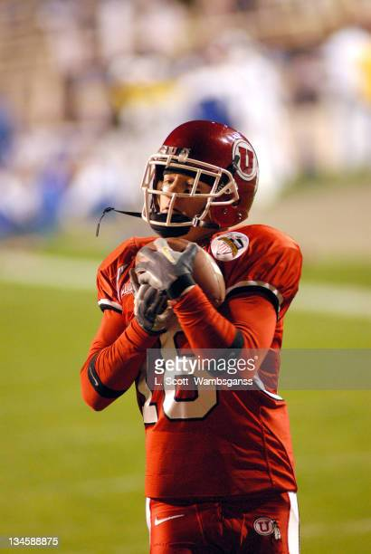 University of Utah's Brian Hernandez during the game against Universtiy of Tulsa in the Armed Forces Bowl played at Amon Carter Stadium in Ft Worth...