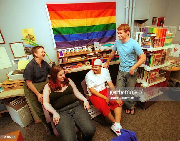 University of Vermont Lesbian Gay Bisexual Transgender Questioning Allied Students Services Coordinator Dorothea Dot Brauer Sarah Webb 20yearsold of...