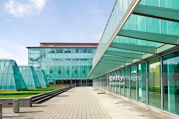 ワシントン大学法学部シアトル - 中庭 ストックフォトと画像