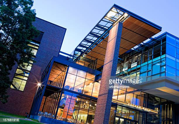 university of washington paccar hall - campus stock photos and pictures