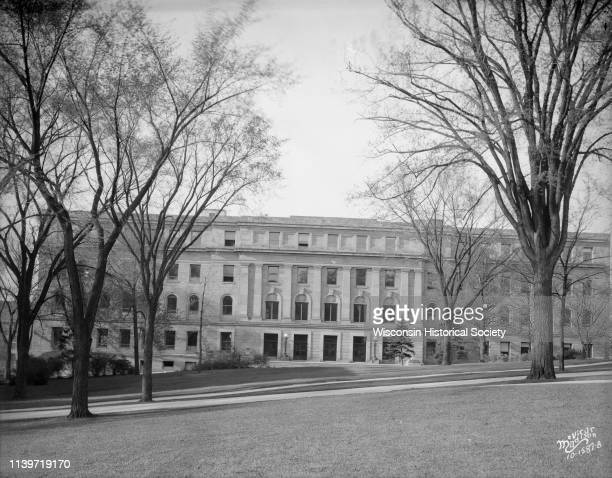 University of Wisconsin Biology building Birge Hall 430 Lincoln Drive viewed from Bascom Hill Madison Wisconsin May 4 1930