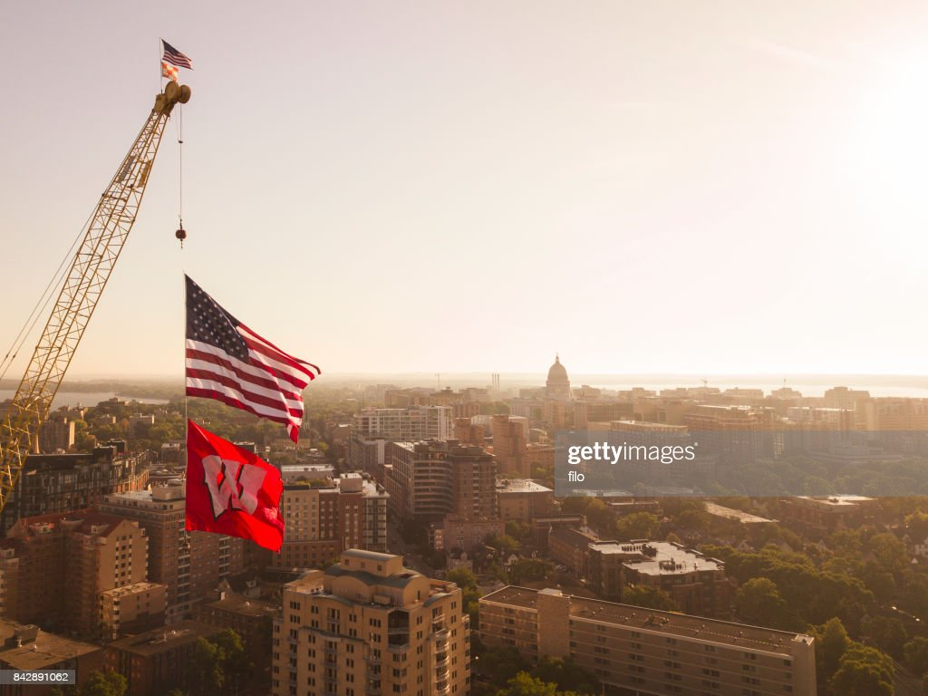 University of Wisconsin Campus : Stock Photo