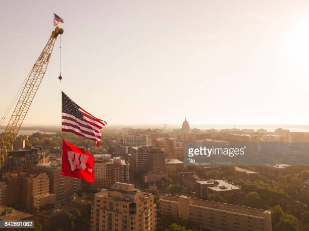 university of wisconsin campus - madison wisconsin stock pictures, royalty-free photos & images