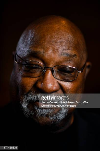 University of Wyoming Black 14 member Mel Hamilton who went on to become the first black school administrator in Wyoming posed on Friday February 8...