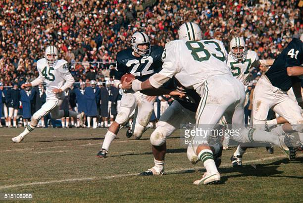 Penn State halfback John Cappelletti picks up yardage during game against Ohio University Cappelletti who started slowly last year now has a chance...