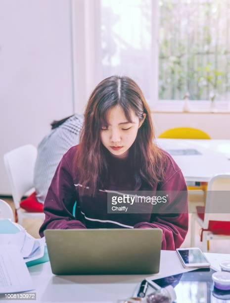 University Students Brainstorming