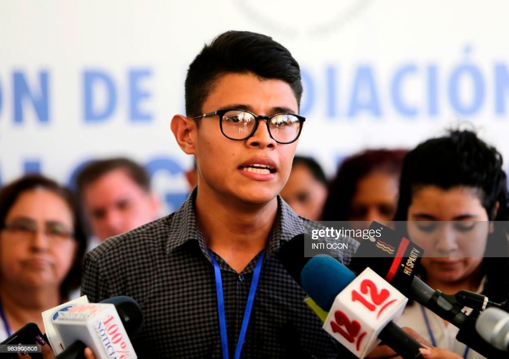 NICARAGUA-UNREST-DIALOGUE : News Photo