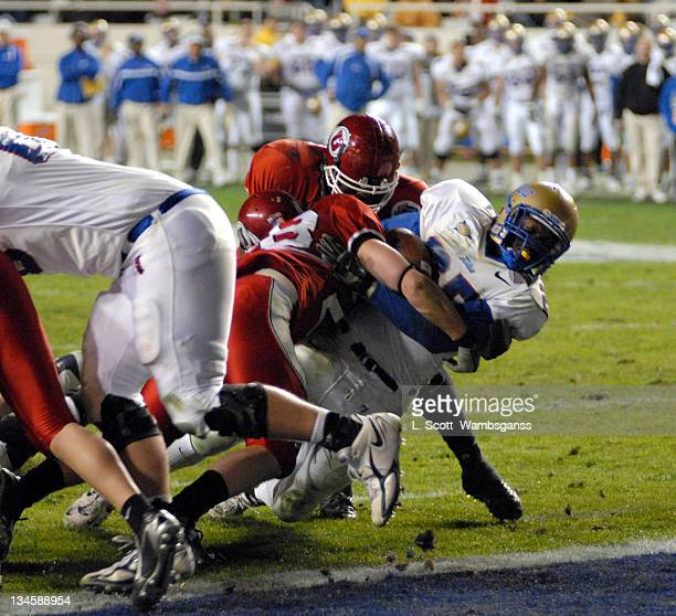 Universtiy of Tulsa's Tarrion Adams in action against the University of Utah during the Armed Forces Bowl played at Amon Carter Stadium in Ft Worth...