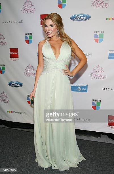 Nuestra Belleza Latina 2007 Stock Fotos Und Bilder Getty Images