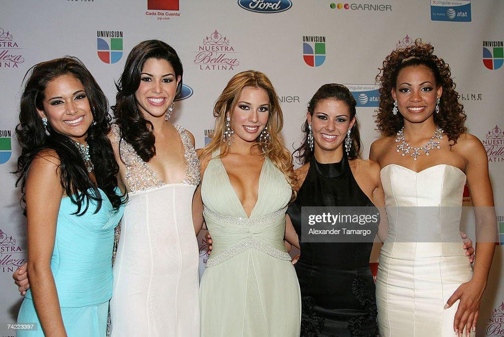 Univisions Nuestra Belleza Latina Finalists Mayra Munoz Yara