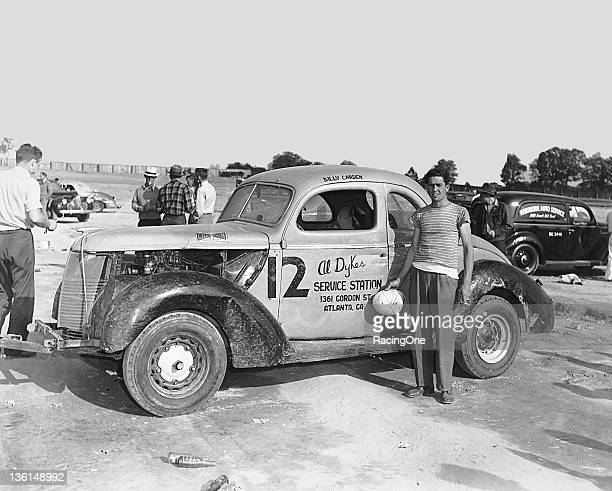 Billy Carden began racing Modified stock cars like this one in 1947 and over the years the Mableton GA native won track championships in both...