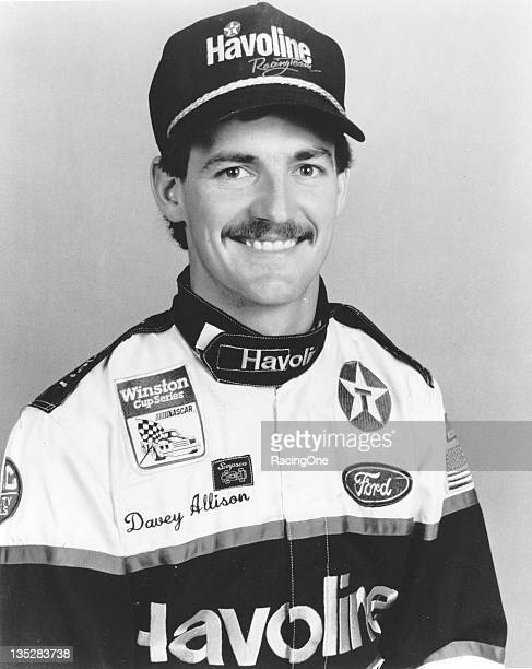 Davey Allison of Hueytown AL ran in 191 NASCAR Cup races between 1985 and 1993 taking 19 victories and a total of 92 top ten finishes Allison...