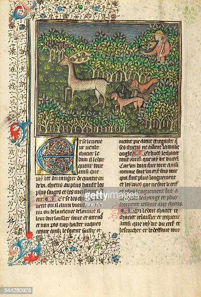 Unknown French miniaturist Brittany Circa 14301440 colors gold and silver on parchment 264 x 184 cm The J Paul Getty Museum Malibu California