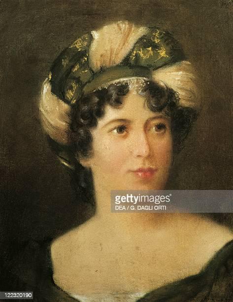 Unknown French painter Portrait of Madame de Staël