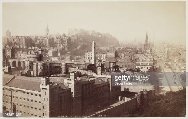 Unknown , James Valentine, Scottish, 1815 - 1879, Edinburgh from Calton Hill, between 1870 and 1880, albumen print from collodion on glass negative,...