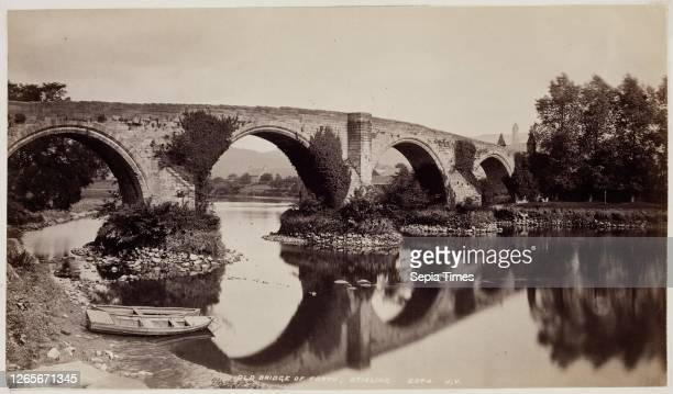 Unknown , James Valentine, Scottish, 1815 - 1879, Old Bridge of Forth, Stirling, between 1870 and 1880, albumen print from collodion on glass...