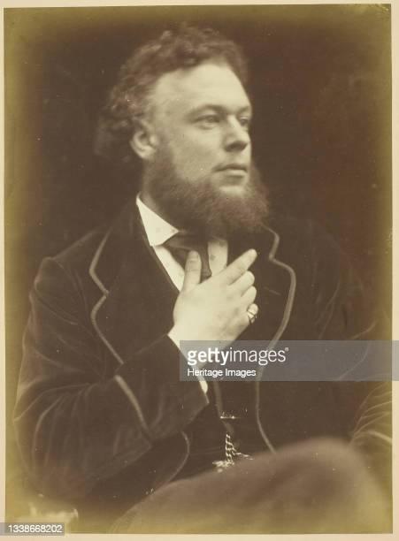 Unknown Man, 1868/74. A work made of albumen print. Artist Julia Margaret Cameron.