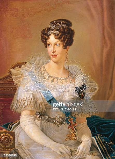 Unknown painter Portrait of Marie Louise of Austria Duchess of Parma Piacenza and Guastalla