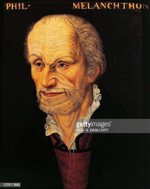 Unknown painter Portrait of Philipp Melanchthon German religious reformer