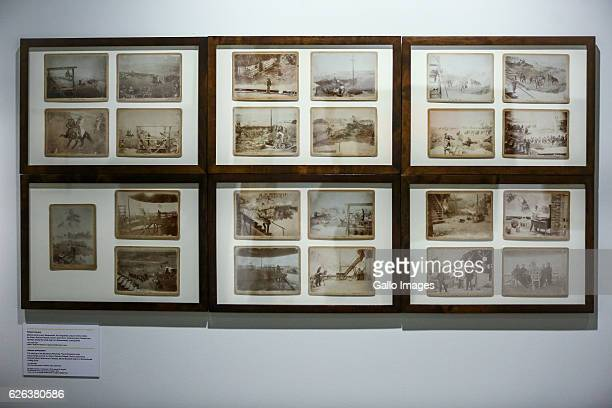 Unknown photographer The paiting of the Raclawice Panorama The photographs show the paintings authors Jan Styka Wojciech Kossak Teodor Axentowicz...