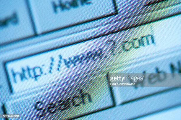 Unknown Website Address