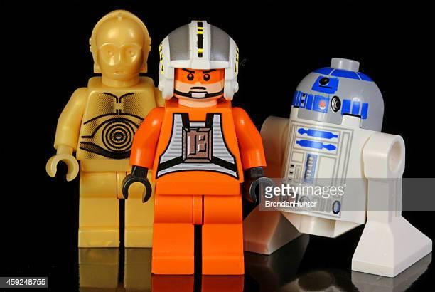 improbable héros - lego star wars photos et images de collection