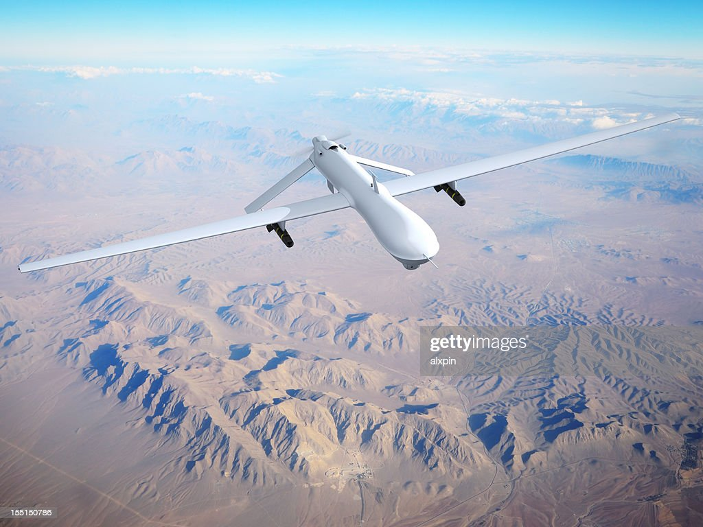 Unmanned Aerial Vehicle (UAV) : Stock Photo