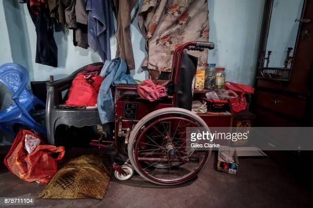 Unnati's wheelchair in the Mahamai Ka Bagh neighborhood Unnati was born to parents contaminated by a carcinogenic and mutagenic water supply This...