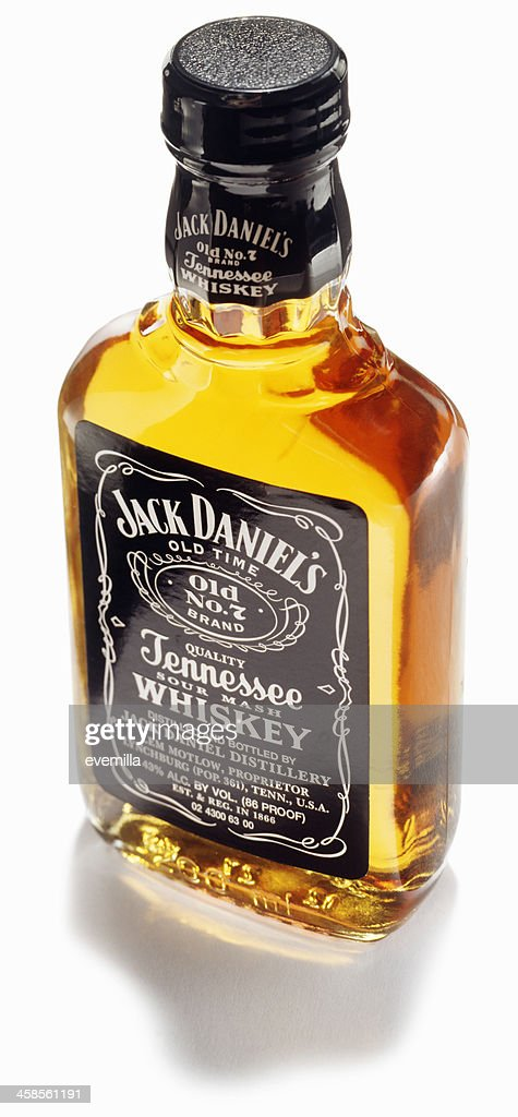 unopened bottle of jack daniels whiskey stock photo getty images