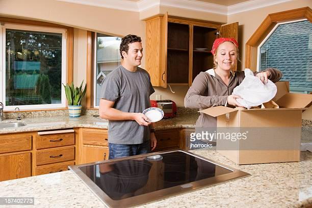 Déballer ses cartons la cuisine