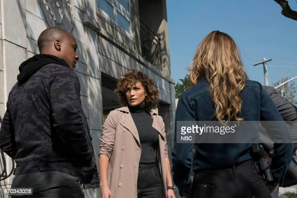 BLUE Unpaid Debts Episode 208 Pictured Hampton Fluker as Marcus Tufo Jennifer Lopez as Harlee Santos