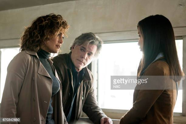 BLUE 'Unpaid Debts' Episode 208 Pictured Jennifer Lopez as Harlee Santos Ray Liotta as Lt Matt Wozniak