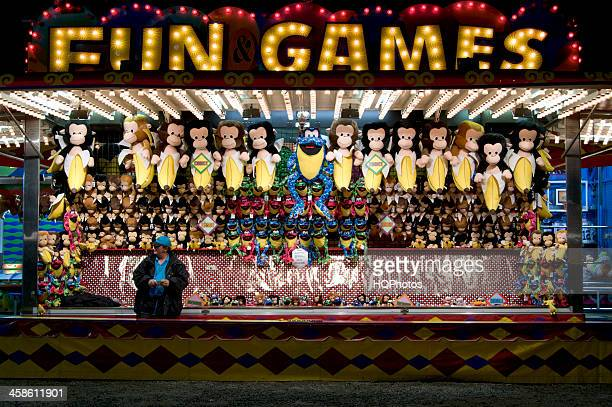 Unpatronized Carnival Game Booth
