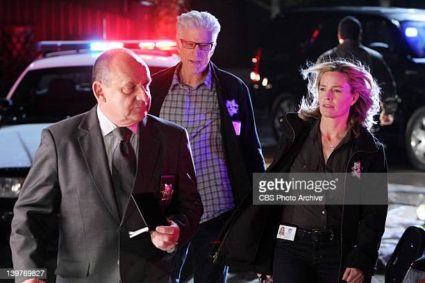 CSI Unplugged Captain Jim Brass DB Russell and Julie Finlay on CSI CRIME SCENE INVESTIGATION Wednesday Feb 29 on the CBS Television Network
